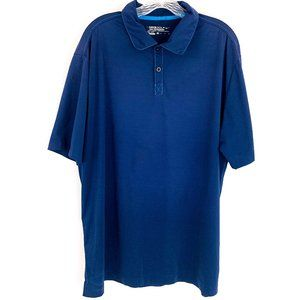 Nike Golf Dri Fit TOUR PERFORMANCE Relaxed Fit Blue Polo Shirt XL   452733-419
